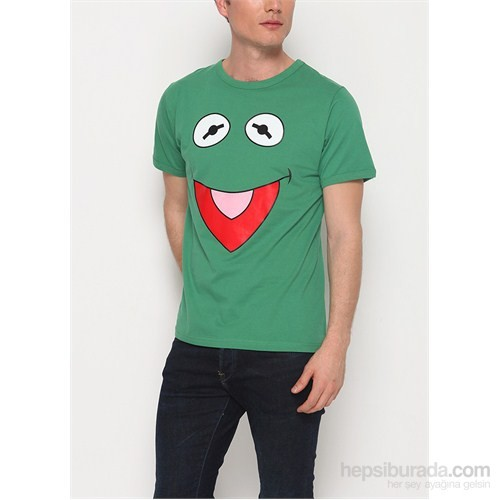 Köstebek Kermit Erkek T-Shirt
