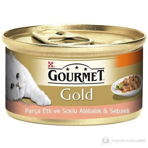 Purina Pro Plan Gourmet Gold Alabalık ve Sebzeli Konserve Kedi Maması 85 Gr