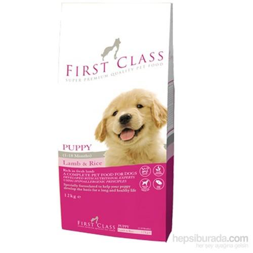 FirstClass Lamb Rice Kuzulu Yavru Köpek Maması 12 Kg