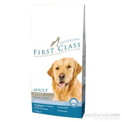 First Class Hypoallergenic Ördekli Pirinçli Köpek Mama 12 Kg