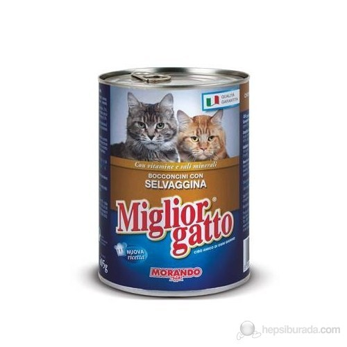 Miglior Gatto Av Hayvanlı Kedi Konservesi 405 gr