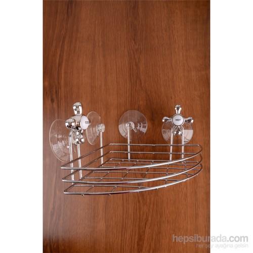 Paşahome Paslanmaz Çelik Lüx Banyo Köşe Askısı