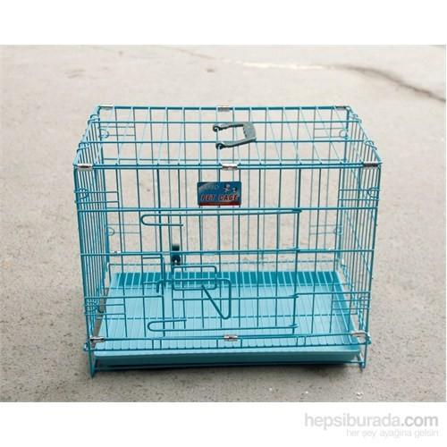 Bobo Köpek M:61.5X43.58X50Cm Katlanabilir Izgaralı Kafes