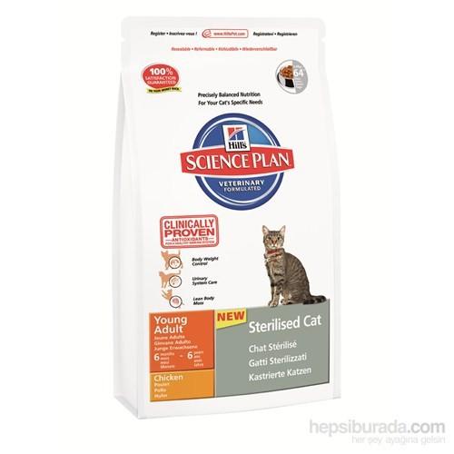 Hill's Science Plan Tavuklu Kısırlaştırılmış Yetişkin Kedi Maması 3,5 Kg (Young Adult Sterilised Cat with Chicken)