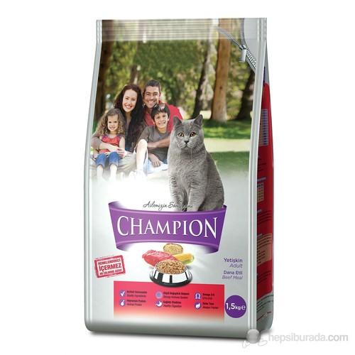 Champion Dana Etli Yetişkin Kedi Maması 1,5 Kg FD*
