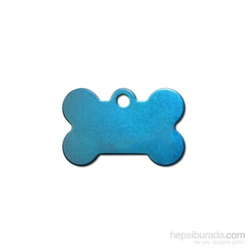 Quick Tag Köpek İsimlik, Kemik, Mavi, Küçük
