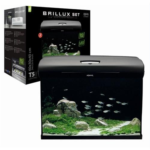 Aquael Aquarium Set Brillux Bio 60 Rect. Akvaryum