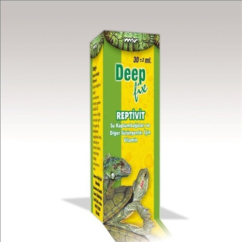 Deep Fix Reptivit Kaplumbağa Vitamini 30 Ml Fiyatı