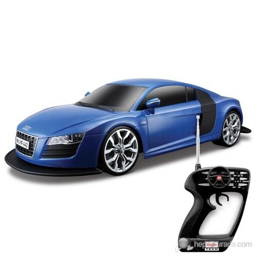 Maisto Audi R8 V10 Uzaktan Kumandalı Araba 1:10 Maisto Tech Lacivert