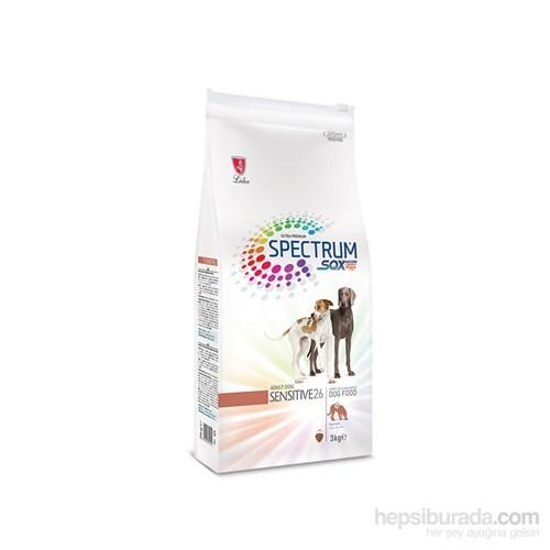 Spectrum Sensitive26 Kuzu Eti Proteini Yüksek Yetişkin Köpek Maması 3 Kg