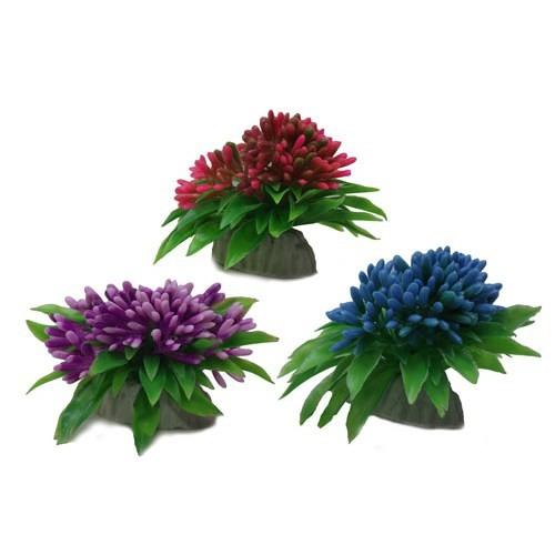 Mini Plastik Bitki Karışık Renk No:1