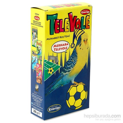 Bird Food Energy Televole® Muhabbet Kuş Yemi - Fb(300 G)