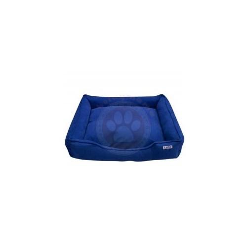 Lepus Soft Mavi Fermuarlı Kedi Köpek Yatağı Large No:3