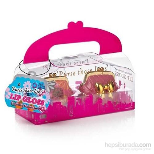 Pembe Cüzdanlar - İkili Dudak Parlatıcı Seti - Purse Those Lips - Lip Gloss Duo
