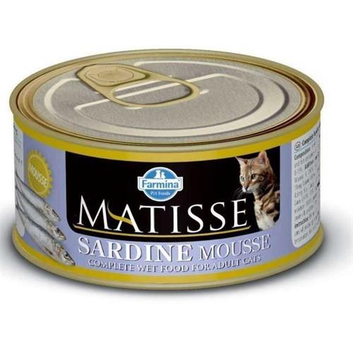 Matisse Cat Mousse Sardine Kıyılmış Sardalyalı Kedi Konserve 85 Gr