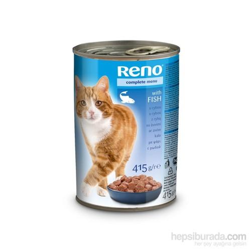 Reno Balıklı Kedi Konservesi 415 Gr