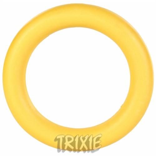 Trixie köpek yüzen naturel kauçuk halka 15cm