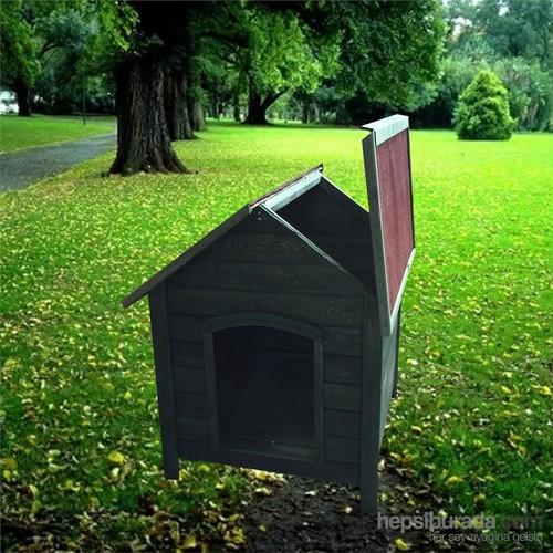 Garden Çatısı Açılır Köpek Kulübesi Yeşil
