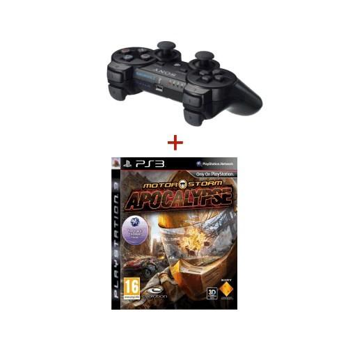 MotorStorm Apocalypse Ps3 +Siyah Sony Dualshock