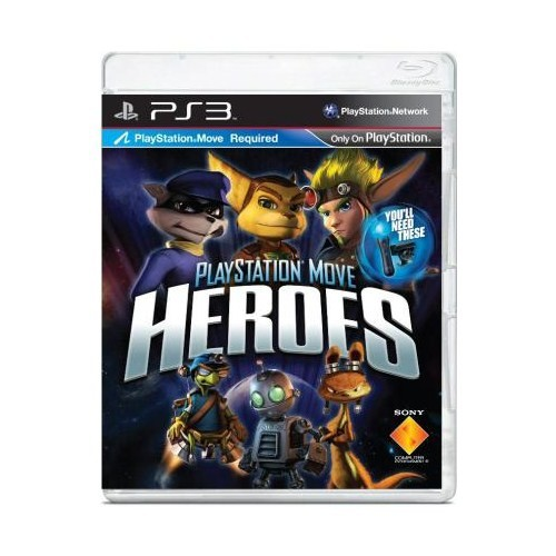 Heroes PlayStation Move Oyun Ps3