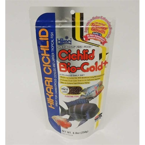 Hikari Cichlid Bio-Gold + Floating Mini Pellet 250 Gr.