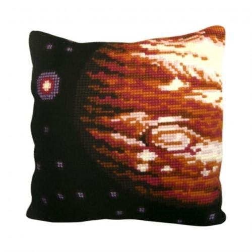 Collection D'art 40X40 Cm Jüpiter Desenli Goblen Yastık Kiti