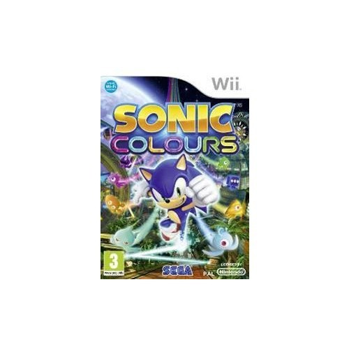 Wii Sonic Colours
