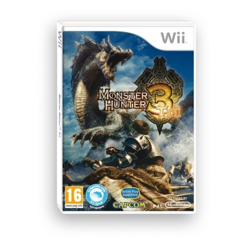 Wii Monster Hunter Tri Wii