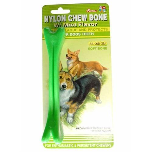 Percell Plastik Nane Aromalı Köpek Kemiği 15 Cm