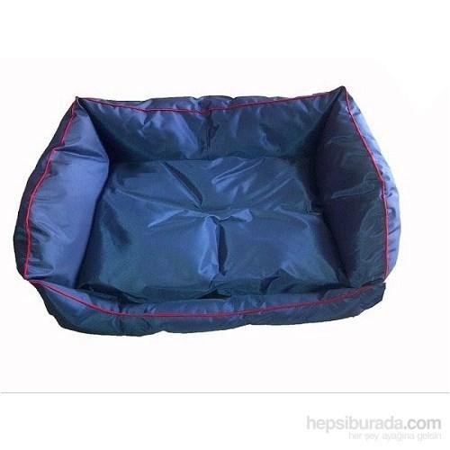 Pet Style Dış Mekan Bahçe Köpek Yatağı Lacivert No:4 105 X 75 X 10 Cm