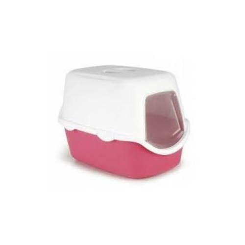 Stefanplast Cathy Kapalı Kedi Tuvaleti Lila