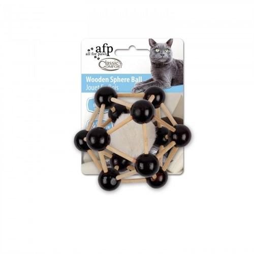 Allforpaws Klasik Komfort - Ahşap Kafes Kedi Oyuncağı