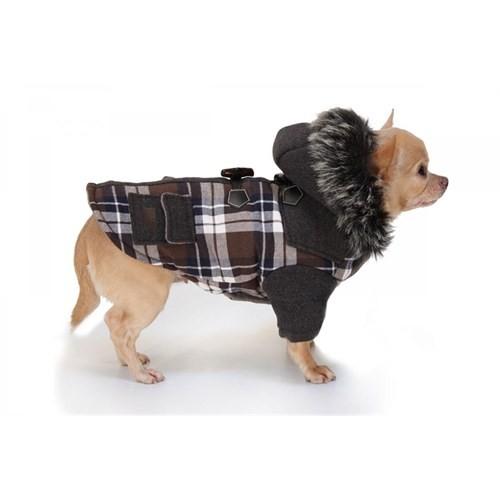 Köpek Ceket (Tartan) 40 Cm