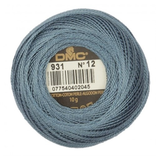 Dmc Koton Perle Yumak 10 Gr Mavi No:12 - 931