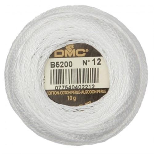 Dmc Koton Perle Yumak 10 Gr Beyaz No:12 - B5200