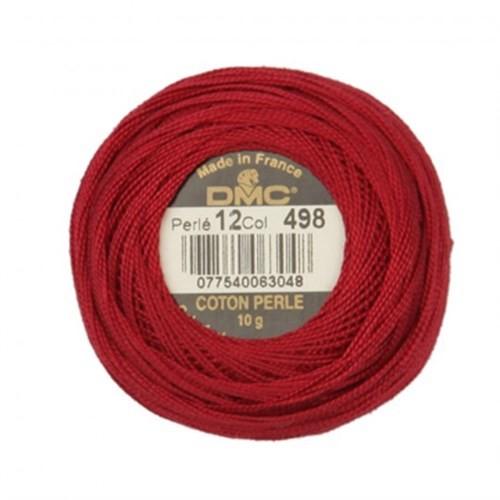 Dmc Koton Perle Yumak 10 Gr Kırmızı No:12 - 498