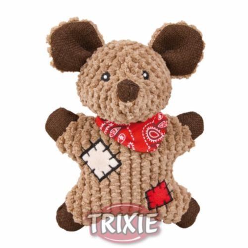 Trixie köpek oyuncağı, peluş fare 19cm