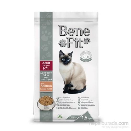 Benefit Adult Sensitive Skin Yetişkin Deri Hassasiyeti Somon Balıklı Kedi Maması 1.5 Kg