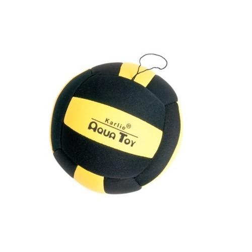 Karlie Flamingo Aqua Ball Neopren Siyah&Sarı Köpek Oyuncağı