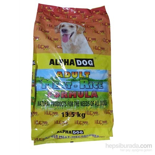 Alphadog The Love Meat&Rice Köpek Maması 13.5Kg