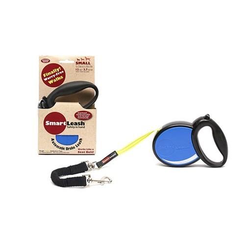 Smart Leash S Mavi Otomatik Köpek Tasması
