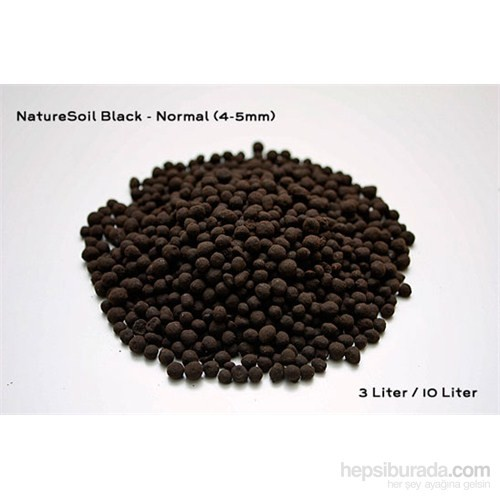 Aqua Deco Nature Soil Black Normal 3L Bitki Kumu