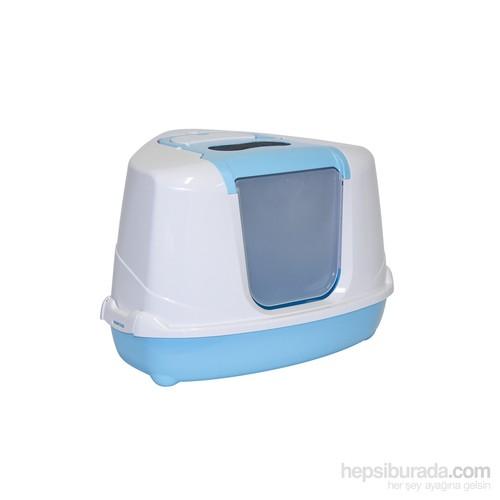 Moderna Flip Köşeli Tuvalet Mavi