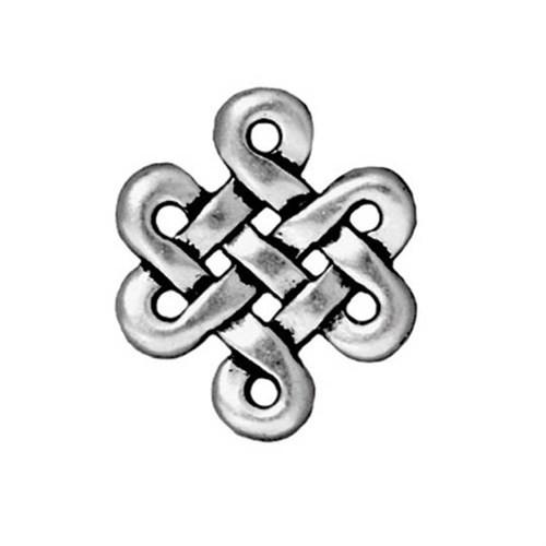 Tierra Cast 1 Adet 17.3X14.7 Mm Gümüş Rengi Sonsuzluk Bağlantı Aksesuarı - 94-3005-12