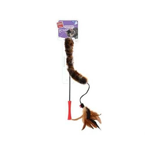 Feater Teaser Kedi Oltası Kuyruklu Doğal Tüylü