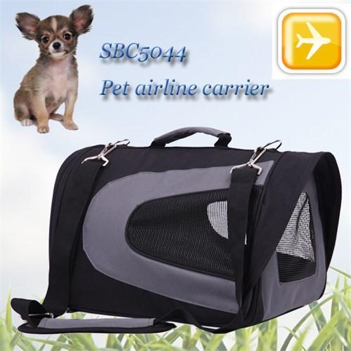 Senful Pet Uçak Çanta 46*26*27 Siyah