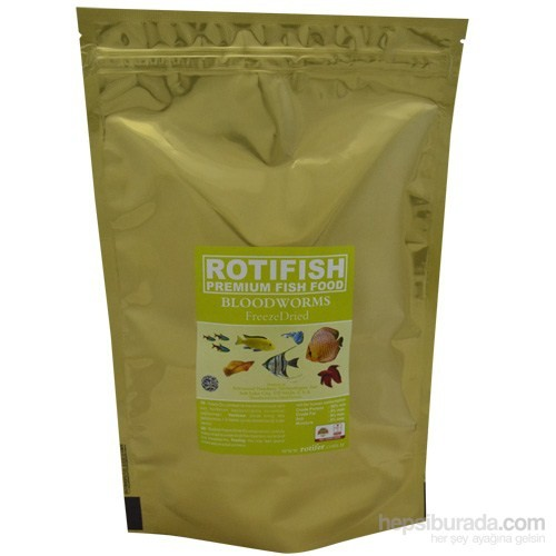 Rotifish Fd Bloodworms 75Gr. Kurutulmuş Kankurdu