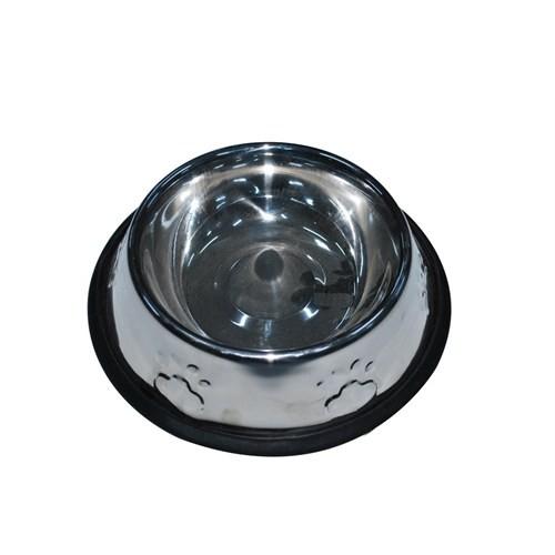 Pet Creaing 32 Oz Kabartmalı Çelik Köpek Mama Kabı