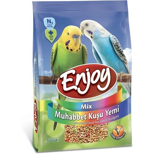 Enjoy Muhabbet Kuşu Yemi Mix 400 Gr