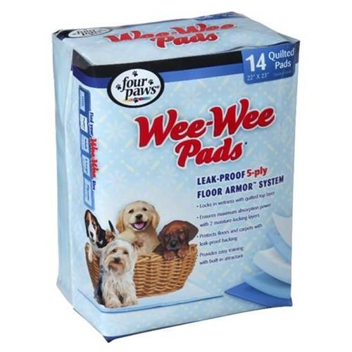 Four Paws Wee Wee Tuvalet Pedi (14 Lü Paket )